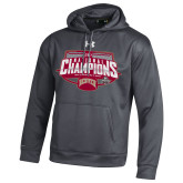 Under Armour Carbon Heather 2017 NCAA Mens Ice Hockey Champions Hood-