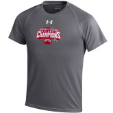 Under Armour Grey Tech Tee 2017 NCAA Mens National Championship Youth Shirt-
