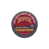 2017 NCAA Mens Ice Hockey Champions Hockey Puck-