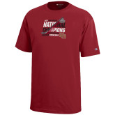 Youth Cardinal Champion Mens Hockey National Champions T-Shirt-