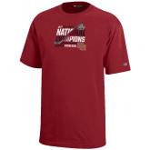 Youth Cardinal Champion Mens Hockey National Champions T-Shirt-