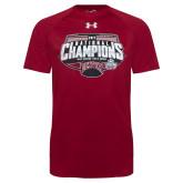 Under Armour Cardinal 2017 Mens Hockey National Champions Shirt-