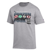 Grey 2016 Mens Frozen Four T-Shirt-