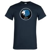 Navy T Shirt-Lion