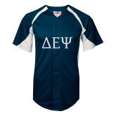 Replica Navy Adult Baseball Jersey-Generic