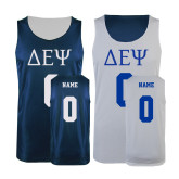 Navy/White Reversible Tank-Personalized