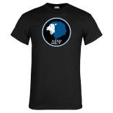 Black T Shirt-Lion Est 1998 Distressed