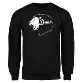 Black Fleece Crew-Lion Head Depsi