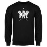 Black Fleece Crew-Triple Lions Star