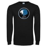 Black Long Sleeve T Shirt-Lion