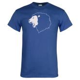 Royal T Shirt-Lion Head