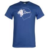 Royal T Shirt-Lion Head Depsi