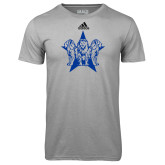 Adidas Climalite Sport Grey Ultimate Performance Tee-Triple Lions Star