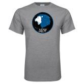Grey T Shirt-Lion Est 1998 Distressed