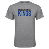 Grey T Shirt-Brotherhood Kings