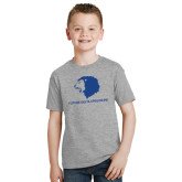 Youth Grey T Shirt-Future Greek Letters