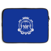 15 inch Neoprene Laptop Sleeve-Delta Epsilon Psi Shield