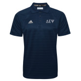 Adidas Climalite Navy Jacquard Select Polo-Greek Letters