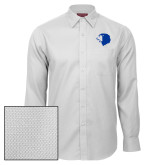 Red House White Diamond Dobby Long Sleeve Shirt-Lion Head