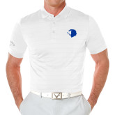 Callaway Opti Vent White Polo-Lion Head