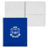 College Spiral Notebook w/Clear Coil-Delta Epsilon Psi Shield