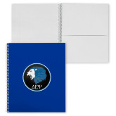 College Spiral Notebook w/Clear Coil-Lion