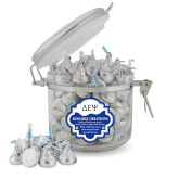 Kissable Creations Round Canister-Greek Letters