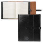 Fabrizio Black Portfolio w/Loop Closure-Primary Logo Engraved