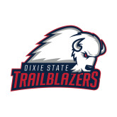 Small Decal-Dixie State Trailblazers, 6 inches wide
