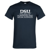Navy T Shirt-CHASS Stacked