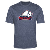 Performance Navy Heather Contender Tee-Dixie State Trailblazers