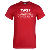 Red T Shirt-College of Humanities and Social Sciences