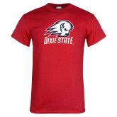 Red T Shirt-Dixie State