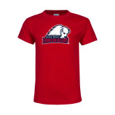 Youth Red T Shirt-Dixie State Trailblazers