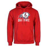 Red Fleece Hoodie-Dixie State