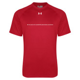 Under Armour Red Tech Tee-CHASS One Line