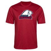 Performance Red Heather Contender Tee-Dixie State Trailblazers