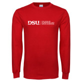 Red Long Sleeve T Shirt-CHASS Horizontal
