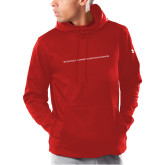 Under Armour Red Armour Fleece Hoodie-CHASS One Line