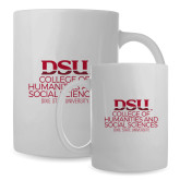 Full Color White Mug 15oz-College of Humanities and Social Sciences