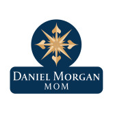 Mom Decal-Mom, 6 in Wide