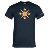 Navy T Shirt-Compass