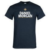 Navy T Shirt-Daniel Morgan Stacked