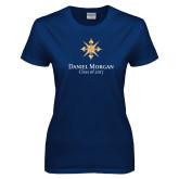 Ladies Navy T Shirt-Class of…