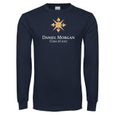 Navy Long Sleeve T Shirt-Class of…