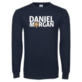 Navy Long Sleeve T Shirt-Daniel Morgan w/ Compass