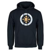 Navy Fleece Hoodie-Badge