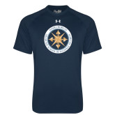 Under Armour Navy Tech Tee-Badge
