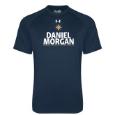 Under Armour Navy Tech Tee-Daniel Morgan Stacked