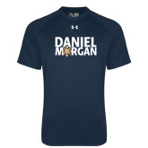 Under Armour Navy Tech Tee-Daniel Morgan w/ Compass